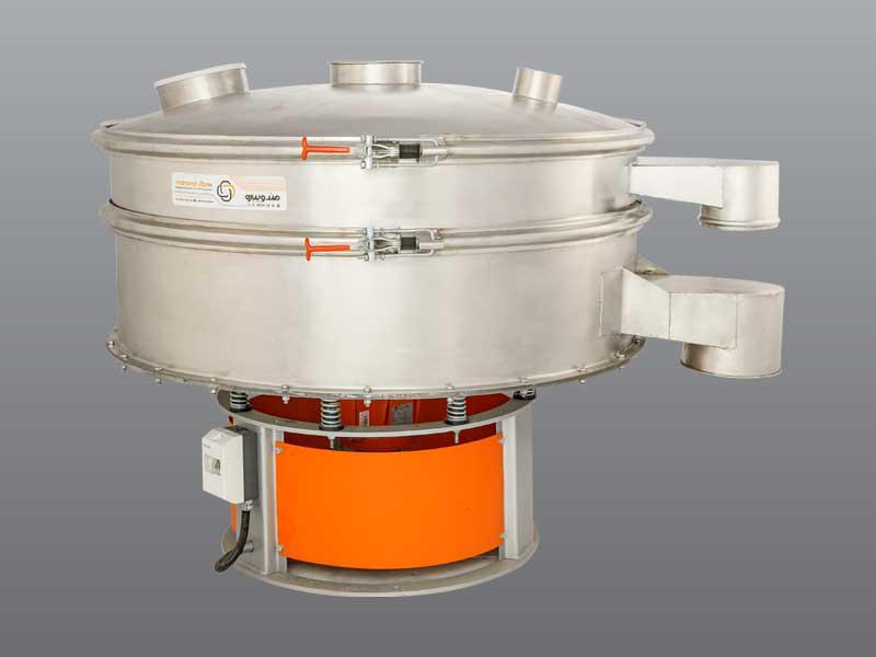 الک ویبره گرد یک طبقه قطر 1200 - Powder screening