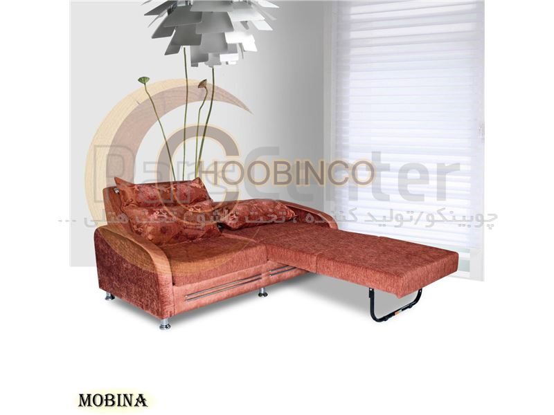 مبلمان تختخوابشوی کمجای چوبینکو مدل k34