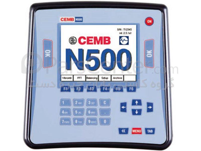 N 500 بالانس صنعتی ( ویبرومتر ) پرتابل ساخت چمب ایتالیا CEMB