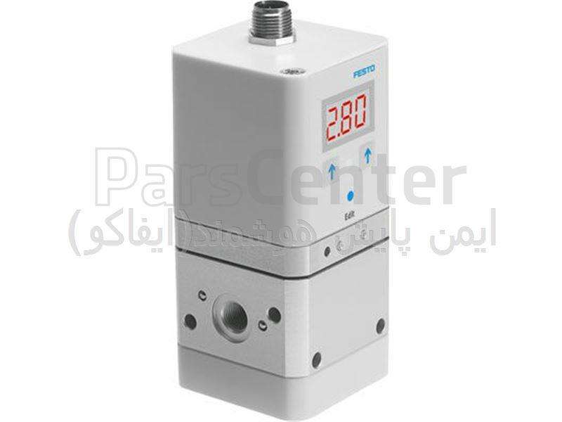 شیر رگولاتور فشار پروپرشنال پنوماتیک محصول شرکت فستو