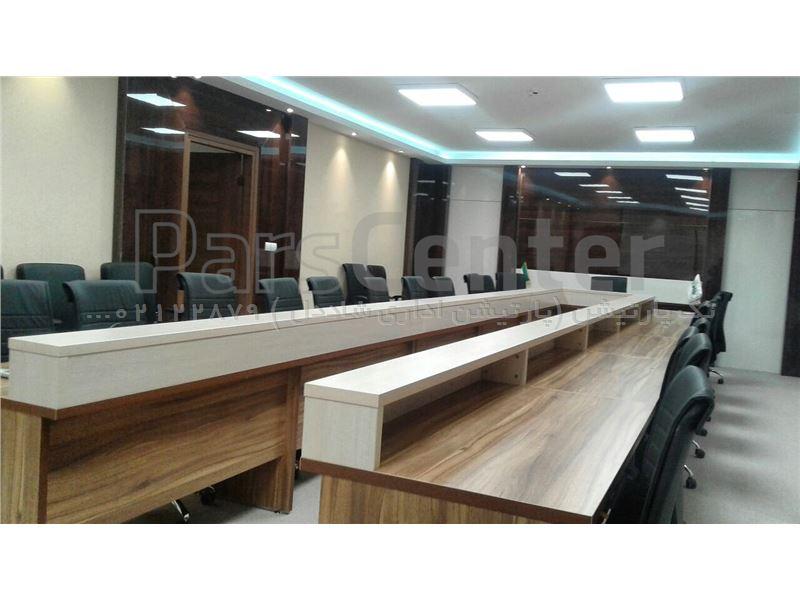 میز کنفرانس( میز ام دی اف) $مبلمان اداری/ میز و صندلی/