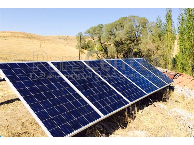 پمپ خورشیدی 95 متری روزکار