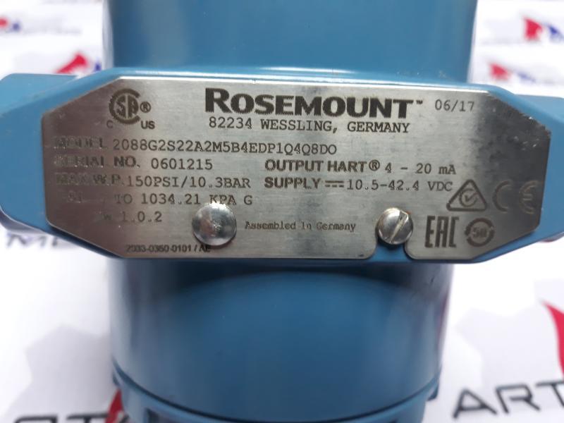 پرشر ترانسمیتر ROSEMOUNT مدل 2088