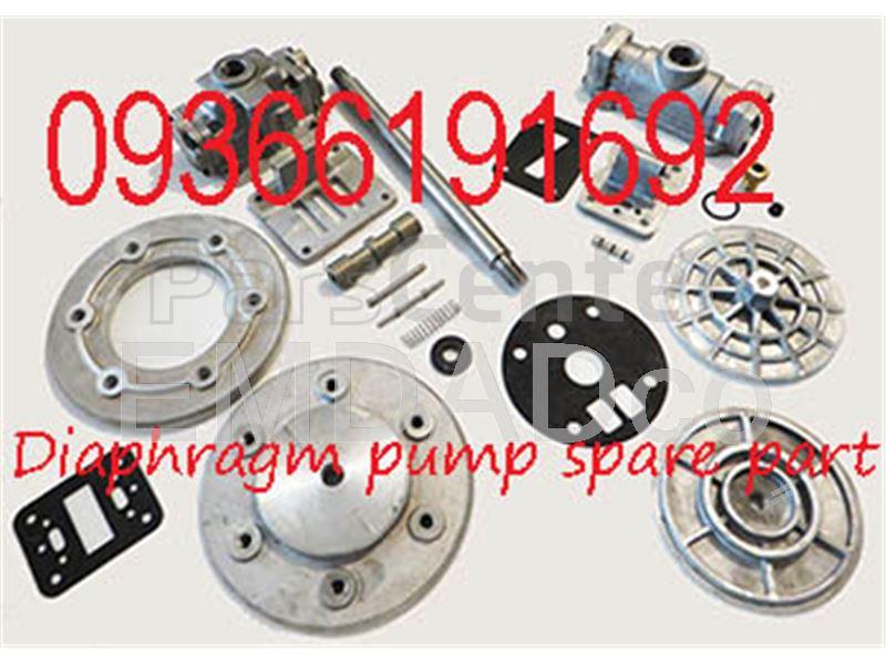 لوازم یدکی پمپ دیافراگمی Diaphragm Pump Spare parts