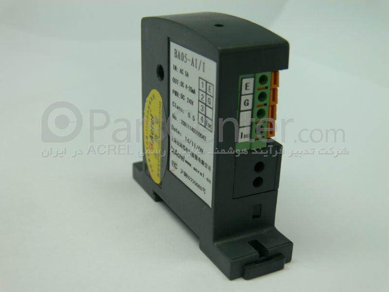 سنسور جریان 10 آمپر AC با خروجی سیگنال 20-4 میلی آمپر