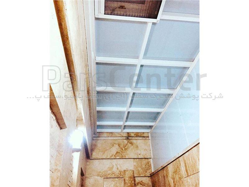 سقف پاسیو ثابت قوسی و شیبدار