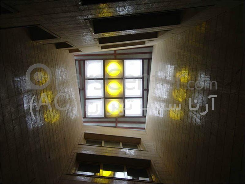 پوشش نورگیر پشت بام حبابی(سعادت آباد-میدان کاج)