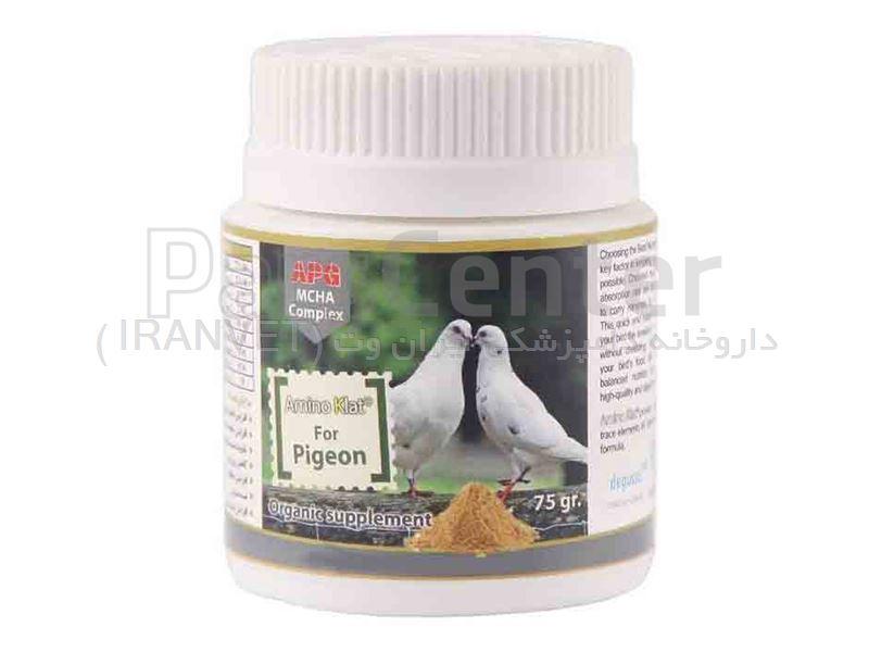 پودر مکمل تقویتی،درمانی ویژه کبوترسانان کد 1150047