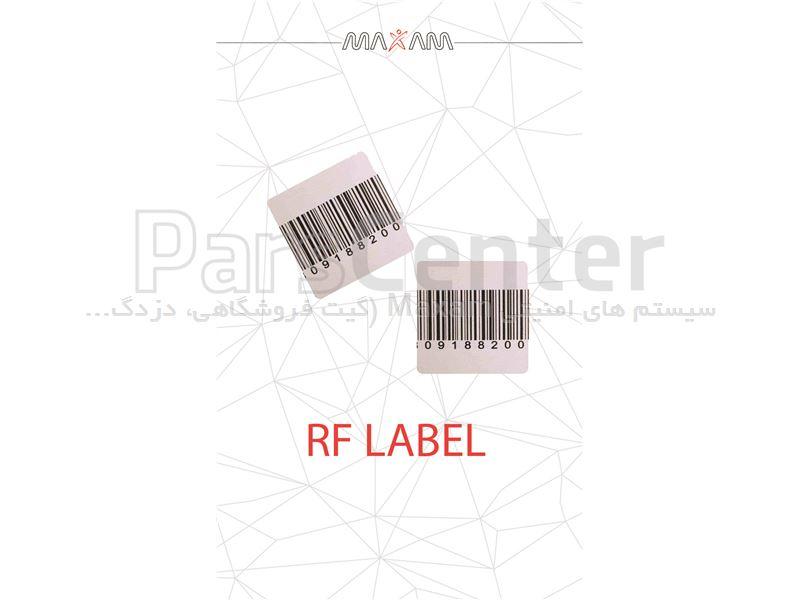 لیبل فروشگاهی RF 40*40 (مکسام)