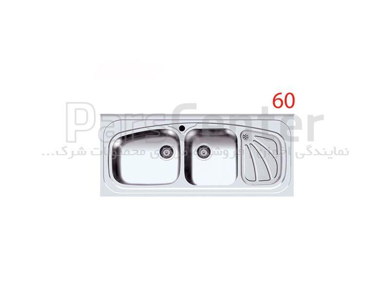 سینک روکار اخوان مدل 60