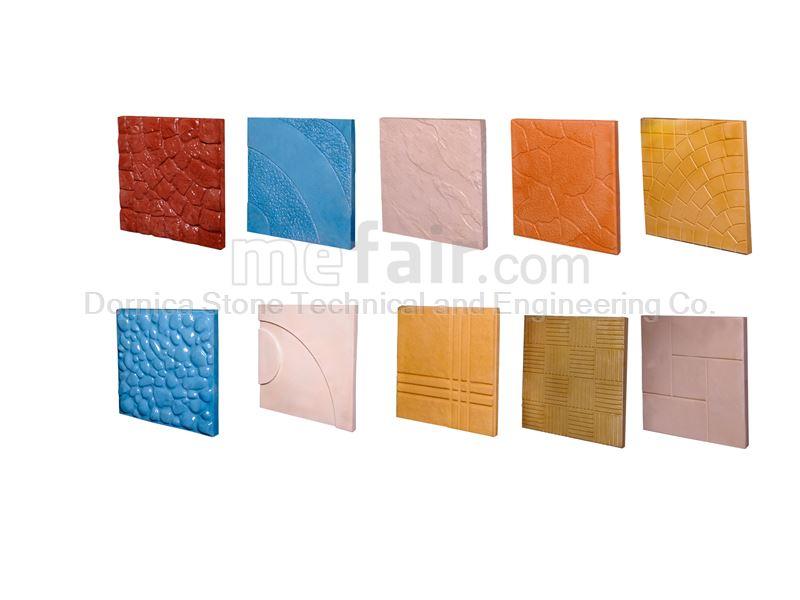 Artificial Stone (Paving tiles, Mosaic, Floor tiles, Building stone)