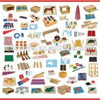 محصولات ( ابزارهای مونته سوری)