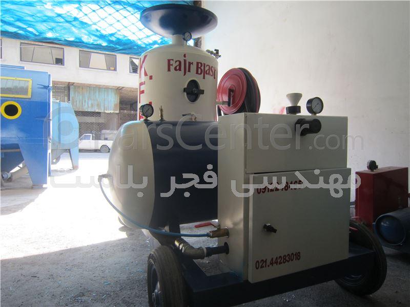دستگاه 30 لیتری سندبلاست بدون غبار