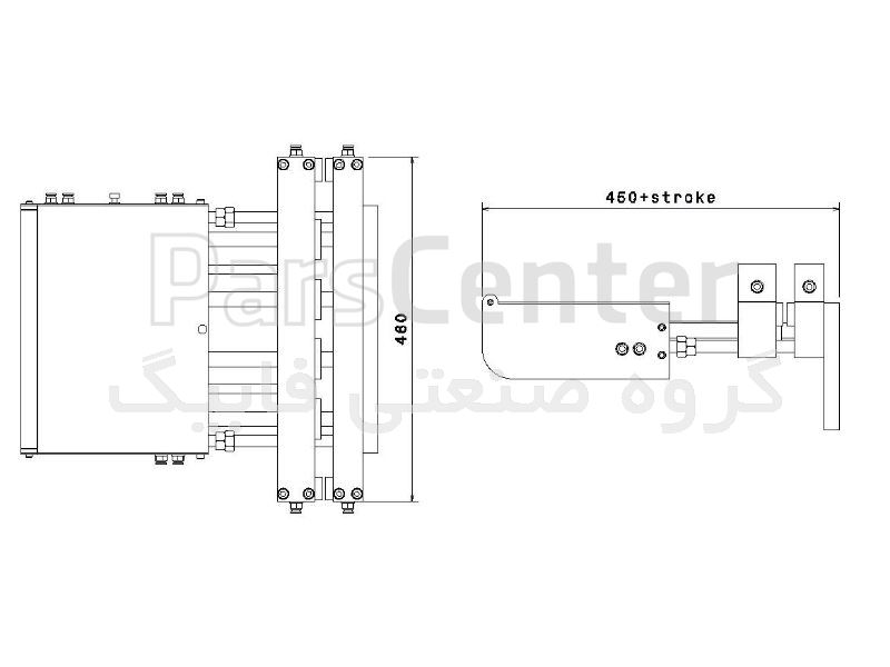 فیدر پنوماتیک سری F مدل FK