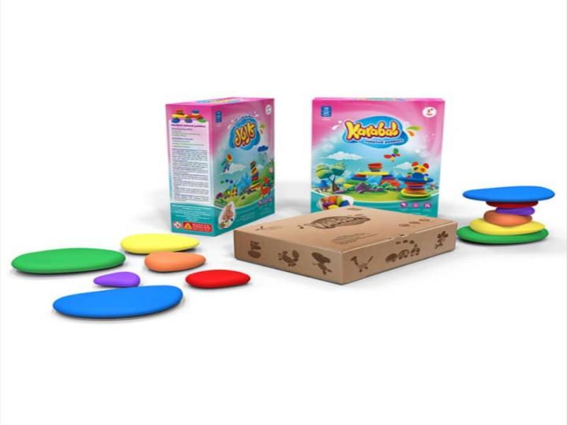 سنگریزه های رنگی سری ۳ کارابال   بازی فکری سنگریزههای رنگی سری ۳