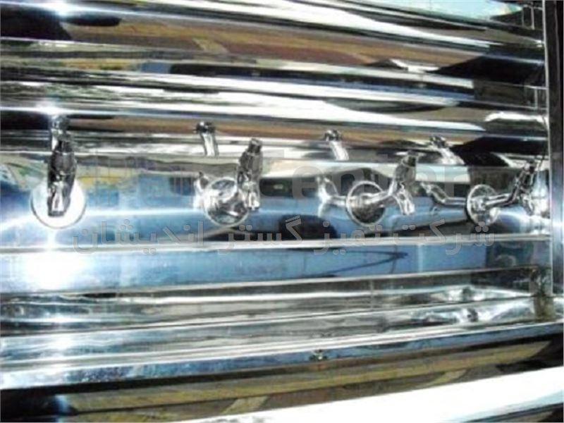 دستگاه آبسردکن استیل 1 تا 4 شیره