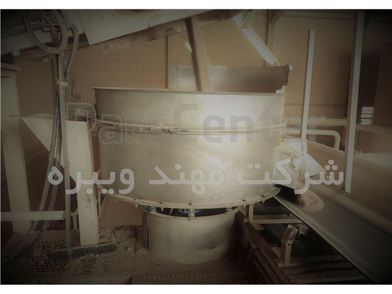 الک ویبره گرد VPM 1200 - Powder screening