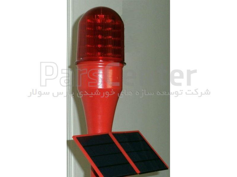چراغ دکل خورشیدی با 90 لامپ LED