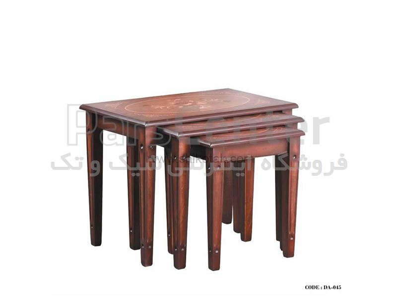 میز جلو مبلی چوبی سری 045