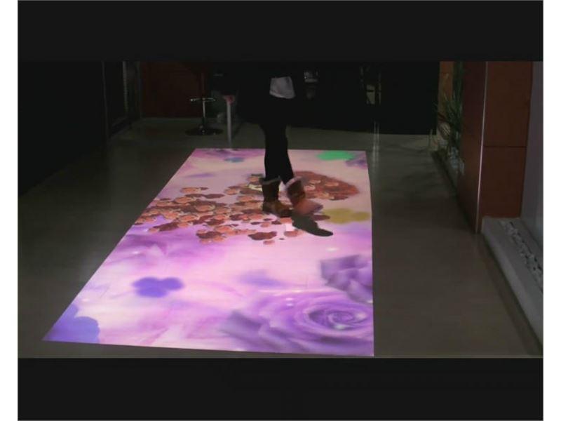 فرشینه تصویرلاله سرخ (فرش هوشمند،فرش مجازی،باکس هولوگرافیک،3D مپینگ،باکس سه بعدی،فرش اینتراکتیو،کف هوشمند،پروجکشن مپینگ)