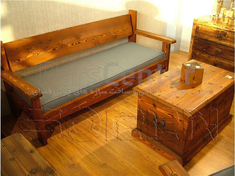 طراحی و ساخت المانهای چوبی