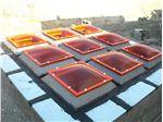 پوشش سقف پاسیو با نورگیر حبابی مدل PSPB N4