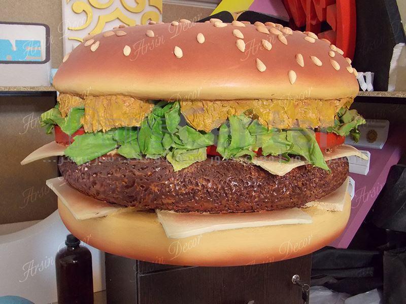 ماکت های تبلیغاتی همبرگر