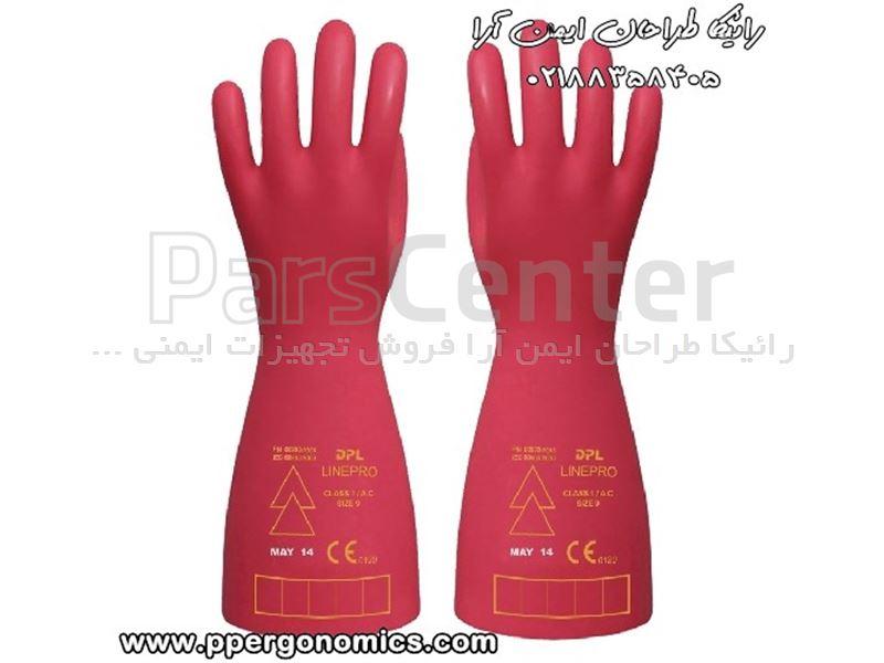 دستکش ایمنی عایق برق DPL مدل Line pro