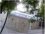 پوشش سقف رمپ پارکینگ ( دزاشیب)