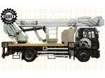 بالابر 36 متری کامیونی تلسکوپی jib دار ISOLI