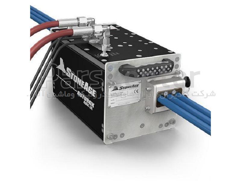 دستگاه واترجت فشار قوی جهت شسشتوی صنعتی و رسوب زدایی لوله ساخت کمپانی استونیج آمریکا