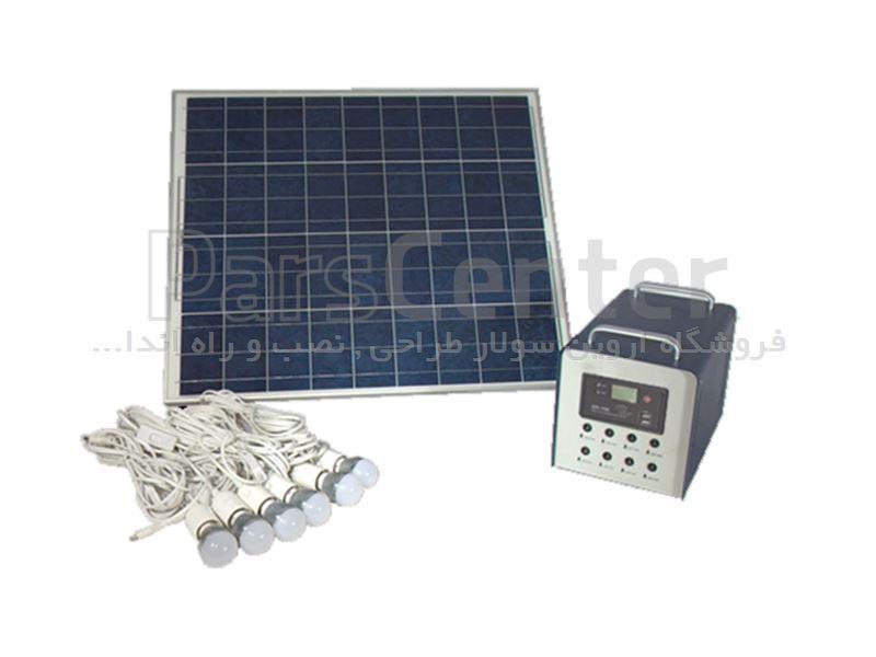 پکیج برق خورشیدی 300 وات Yingli Solar