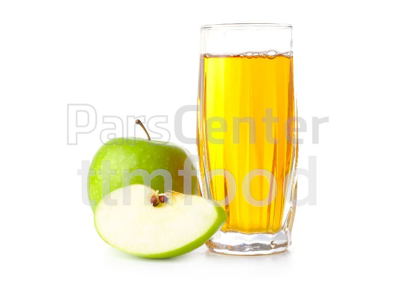 کنسانتره سیب با شفافیت و بریکس بالا