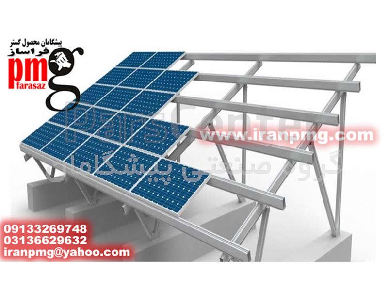 ساخت سازه های نیروگاههای خورشیدی