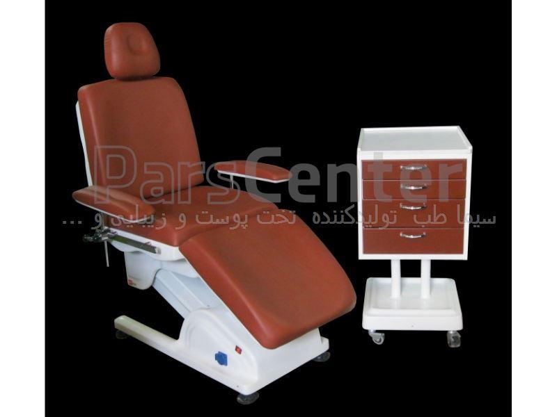 تخت جراحی پوست و مو و لیزر  مدل  SH4