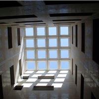 پوشش سقف پاسیو با نورگیر حبابی