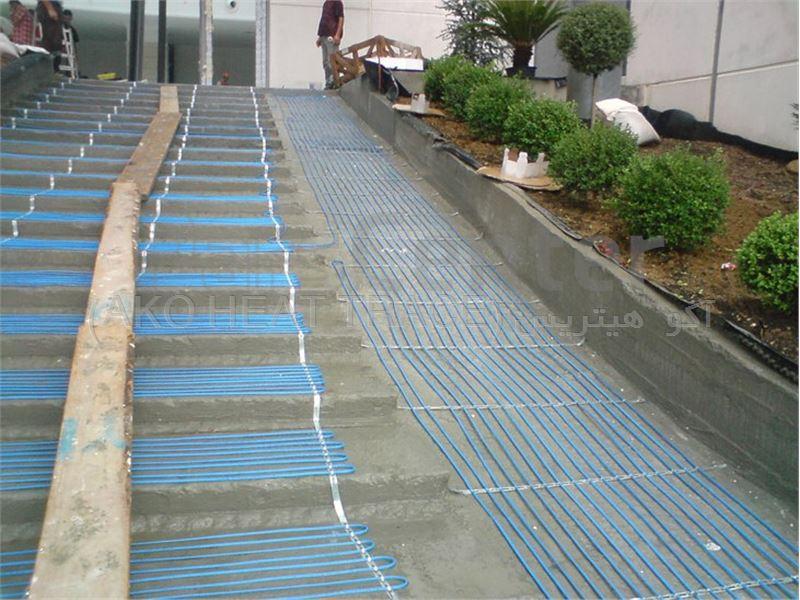جلوگیری از یخ زدگی پله ها