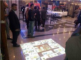 شرکت بین المللی پاسارگاد اینتراکتیو | مانیتور شیشه ای و فرش مجازی