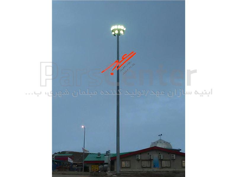 تولیدبرج نوری 6 متری با سیستم دستی