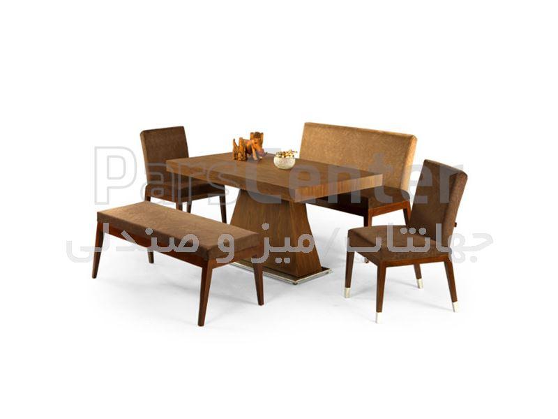 میز چوبی رستوران مدل 1037WS (جهانتاب)