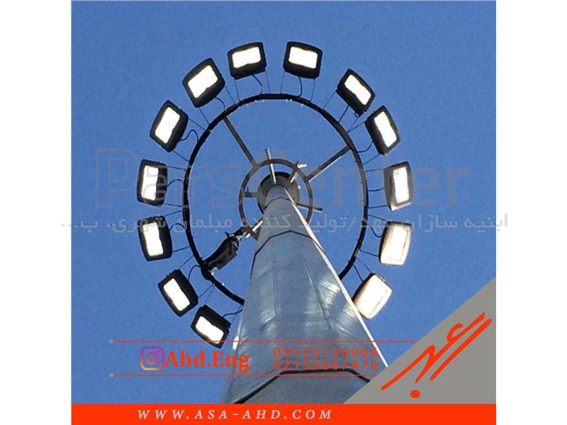 نصب برج نوری در ارتفاعات مختلف