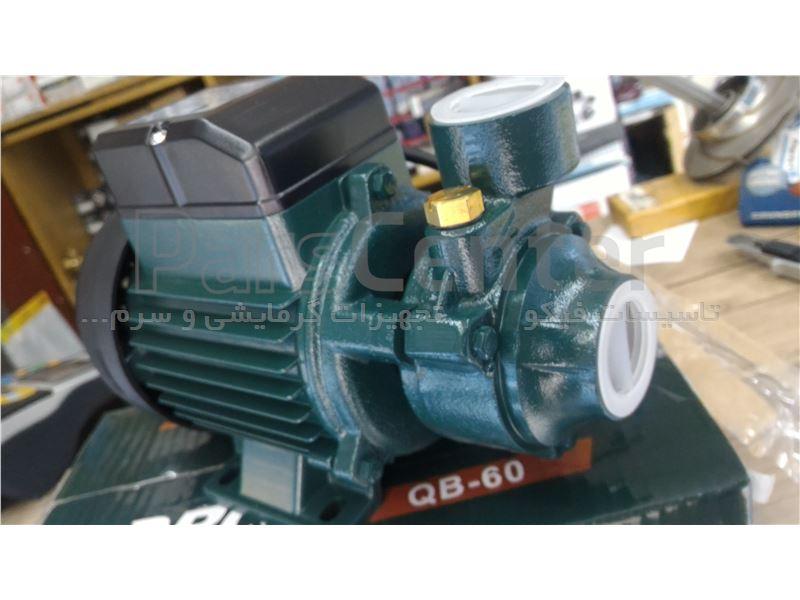 پمپ 0.5 اسب محیطی Drop ساخت چین  مدل  QB-60 compact