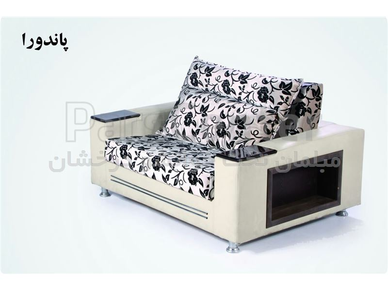 مبل تختخواب شو دو نفره و یک نفر خواب پاندورا عرض 100