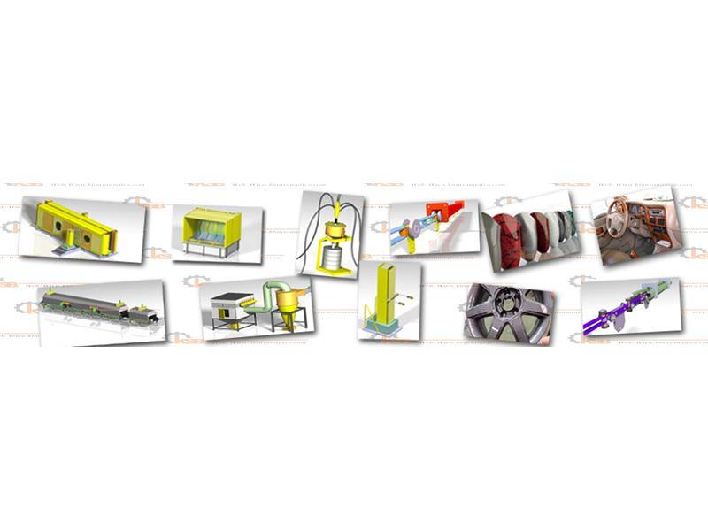 """""""کیان صنعت برهان""""  طراح، مشاور، مجری خطوط رنگ و اتوماسیون تولید"""