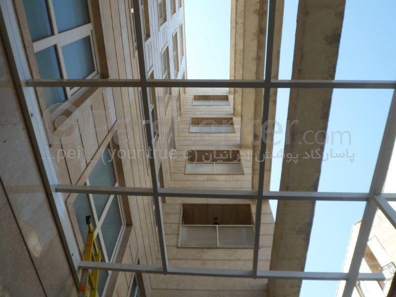 (Patio Roof) سقف پاسیو  و دیوار غربی 343