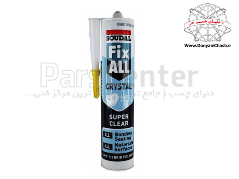 چسب مونتاژ SOUDAL Fix All HIGH TACK  بلژیک