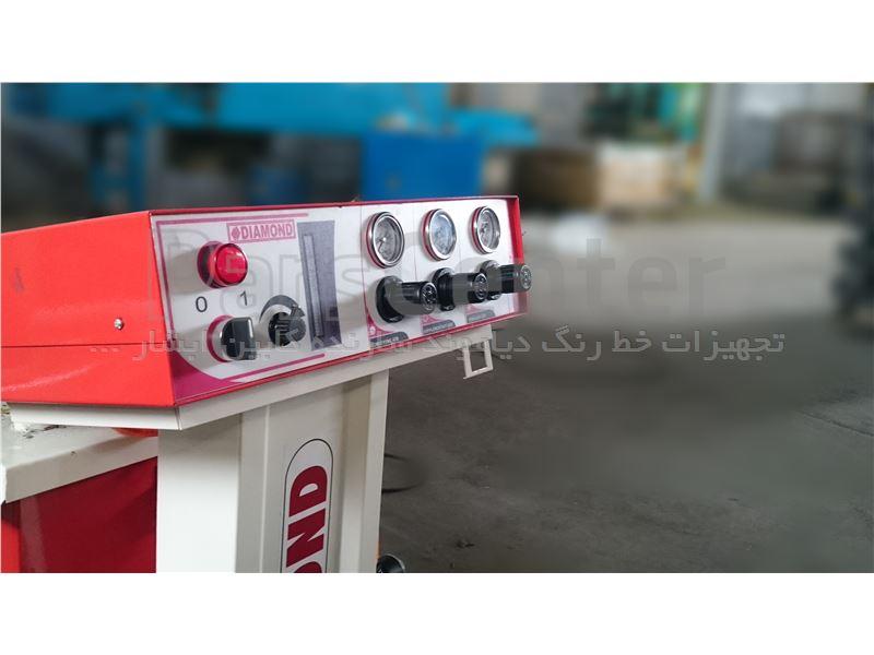 دستگاه پاشش الکترو استاتیک با دو سال گارانتی وده سال خدمات پس از فروش