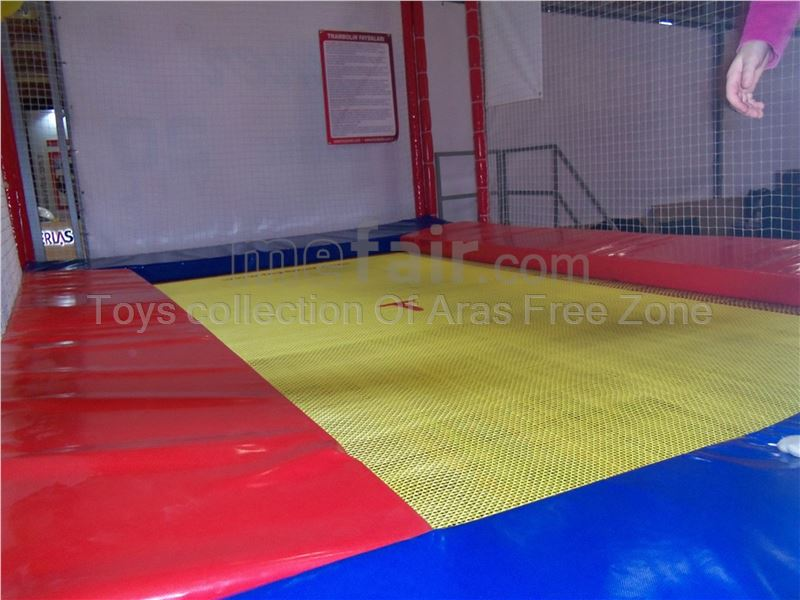 1 bed  Olympic outdoor trampoline