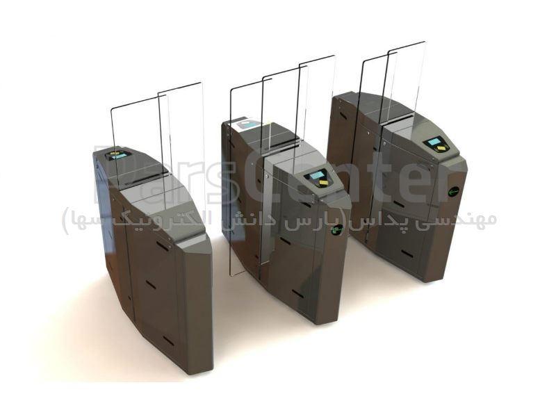 گیت کنترل تردد شیشه ای hp103