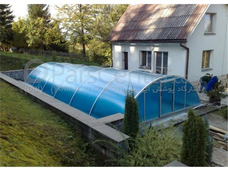 pool enclosures  models arc - پوشش مدل قوسی